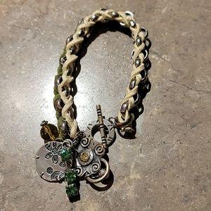 💚2/$20💚 Suede Woven Bracelet